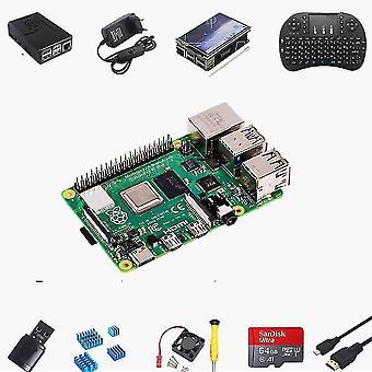 Computer starter kits raspberry pi 4 4gb starter max kit - 64gb edition