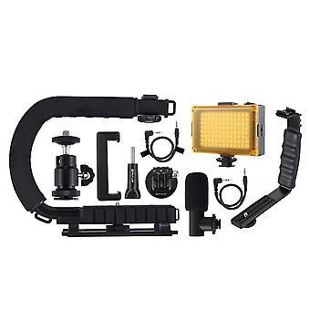 U Grip C Shaped Handgrip Camera Stabilizer For Steadicam Dslr Stabilizer
