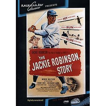 Historia de Jackie Robinson (1950) [DVD] USA importar