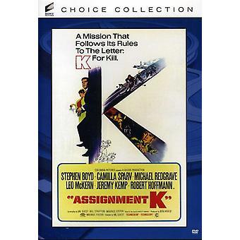 Importer des affectations K [DVD] é.-u.