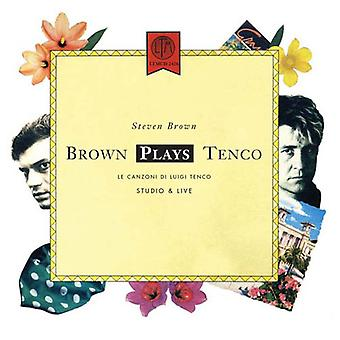 Steven Brown - Brown Plays Tenco + Live 1988 [CD] USA import