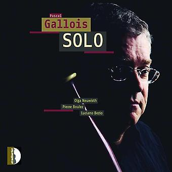 Pascal Gallois - Solo [CD] USA import