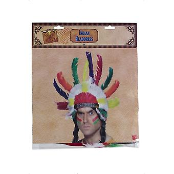 Indian Headdress multicolor Sitting Bull