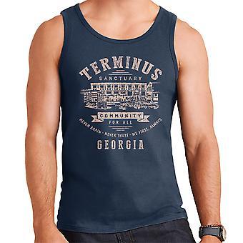 Terminus Sanctuary Community Walking Dead Light Men's Vest
