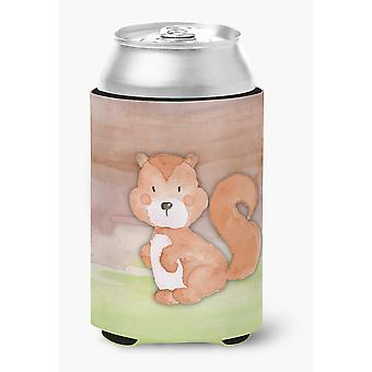Carolines Treasures  BB7439CC Squirrel Watercolor Can or Bottle Hugger