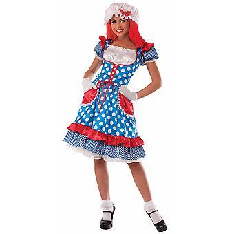 縫いぐるみ人形女性絵本週間ラガディ アン漫画ハロウィン女性衣装します。