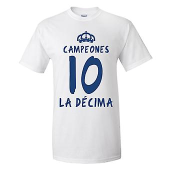 Real Madrid La Decima T-Shirt (White)