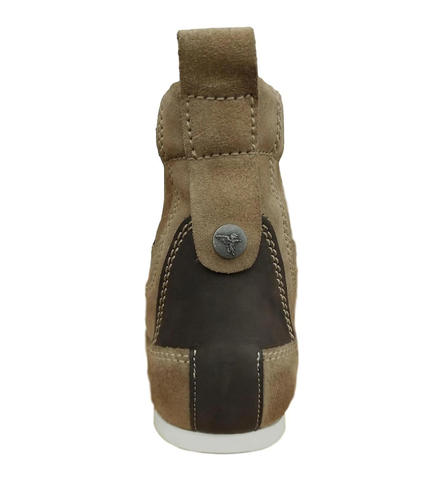look good shoes sale discount low price Henleys Men's Smokie Suede Leather Casual Boots