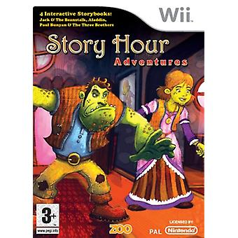 Berättelsen Hour Adventures (Wii)-fabriken förseglad