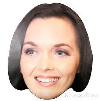 Victoria Pendleton Smiley Face masker