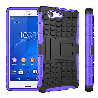 Hybrid Case 2teilig Robot Purple for Sony Xperia Z3 Compact D5803 M55W