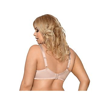 Gorsenia K441 Women's Luisse Skin Solid Colour Non-Padded Underwired Soft Bra