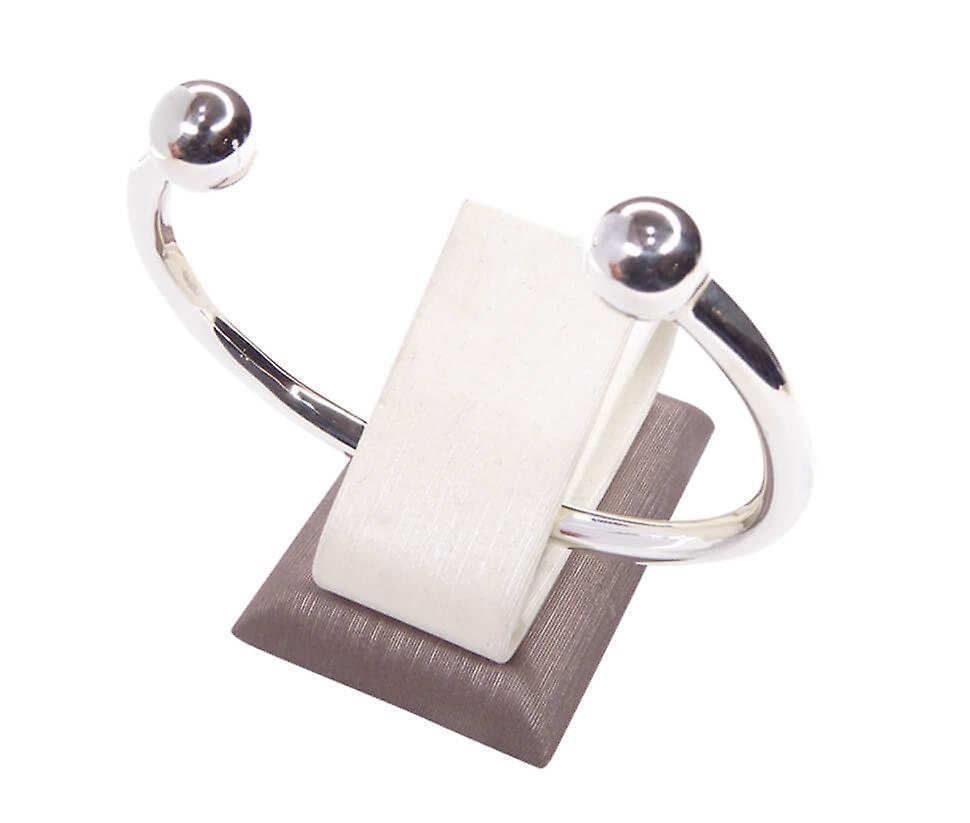 Silver slave bracelet