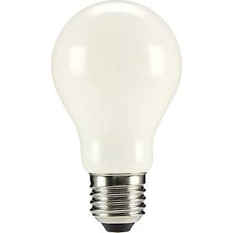 Sygonix LED (monochrome) EEC A++ (A++ - E) E27 Arbitrary 6 W = 55 W Warm white (Ø x L) 60 mm x 105 mm Filament 1 pc(s)
