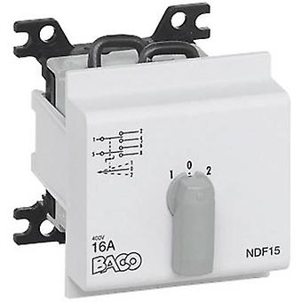 BACO NDF15 overgang switch 16 A 2 x 30 ° grijs 1 PC('s)