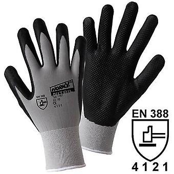 L+D worky NITRIL GRID 1167 Nylon Protective glove Size (gloves): 11, XXL EN 388 CAT II 1 Pair