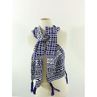 Fraas ファッション クリスマス スカーフ パターン色冬暖かいユニセックス英国ラベルなし
