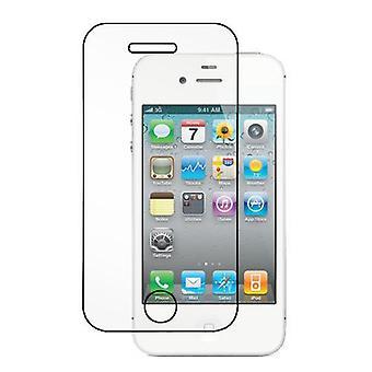 Härdat glas skärmskydd iPhone 4/4S transparent