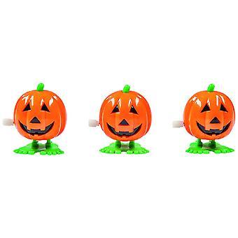 Klapperkürbis Halloween Accessoire Spielzeug lustig