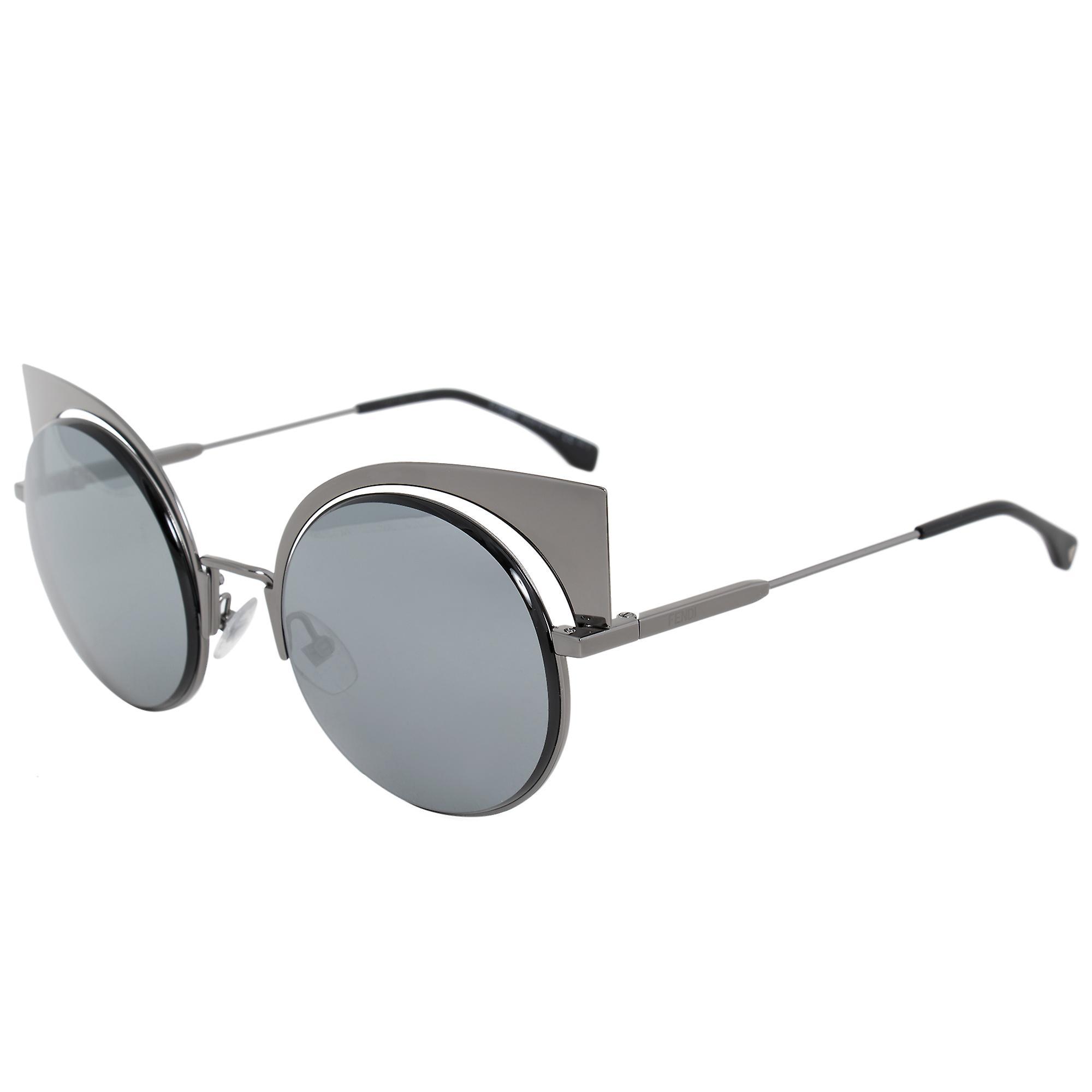 Fendi Eyeshine Cat Eye Sunglasses FF0177S KJ1 T4 53