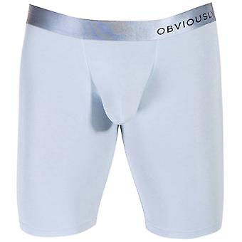 Obviously PrimeMan AnatoMAX Boxer Brief 9inch Leg - Ice Silver