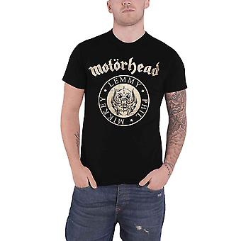 Motorhead T Shirt Undercover Seal Newsprint Band Logo new Official Mens Black