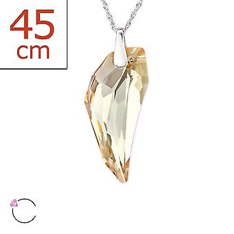 Pegasus Crystal From Swarovski® - 925 Sterling Silver + Crystal Necklaces - W29490x