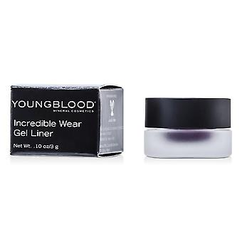 Youngblood Incredible Wear Gel Liner - # Black Orchid - 3g/0.1oz