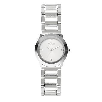 s.Oliver Panie nadgarstka zegarek analogowy, kwarcowy SO-15025-MQR