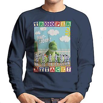 Original Stormtrooper Dino Storm Trooper Attack Men's Sweatshirt