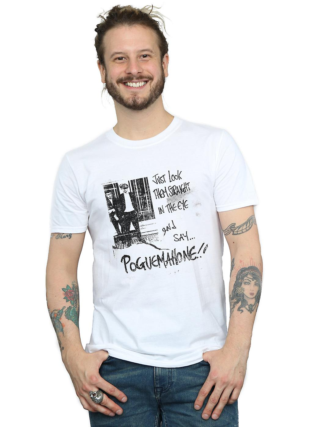 The Pogues Men's Straight In The Eye T-Shirt