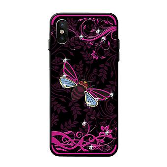 NXE iPhone X TPU shell-Rose Bee