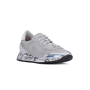 Frau silver satin fashion sneakers
