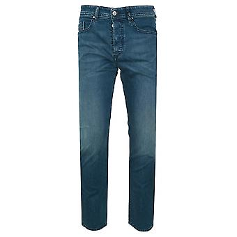 Diesel Regular Slim Fit Buster Light Blue Rinse Jean