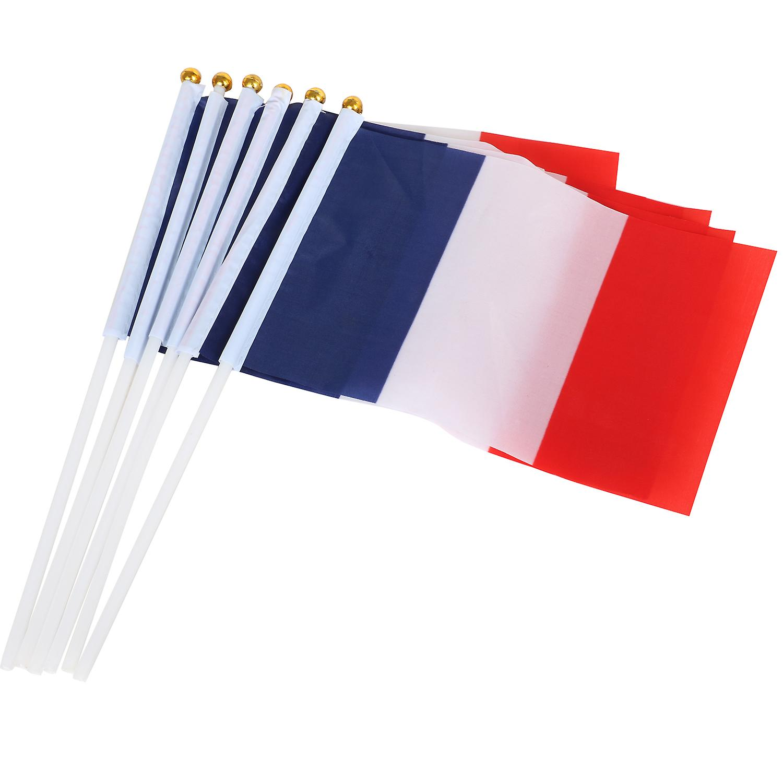 FRENCH WAVING FLAG