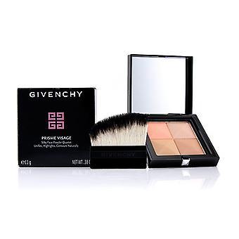 Quarteto de seda pó facial Givenchy Prisme Visage - # 7 Taffetas caramelo - 11g/0,38 oz