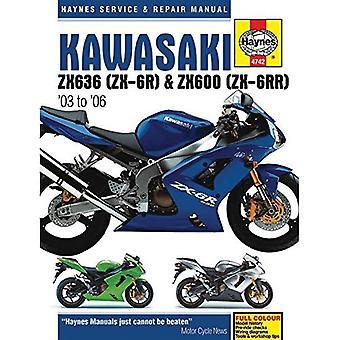 Manuel de réparation et Service de Kawasaki ZX-6R: 2003 à 2006 (Haynes Service et manuels de réparation)