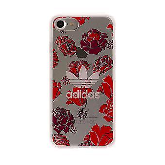 Adidas Originals Coque transparant Case voor iPhone 8/7-Rose/rood