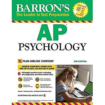 Barron's AP Psychology, 8th� Edition: With Bonus Online� Tests