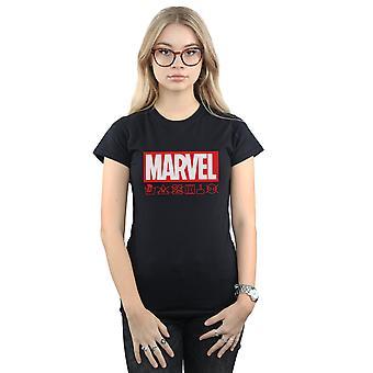 驚異女性のロゴ洗浄ケア t シャツ