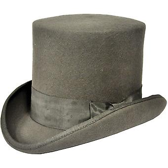 Tall Hat Grey Medium For Men