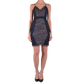Liu Jo Ezbc086024 Women's Blue Viscose Dress
