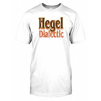 Hegel dialektyka - spisek męskie T Shirt