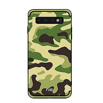 NXE Samsung Galaxy S10e TPU-shell-camouflage-Light Green