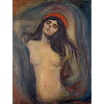La Dame, Edvard Munch, 50x38cm