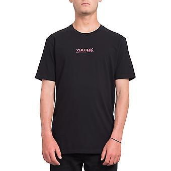 Volcom Listen Short Sleeve T-Shirt in nero