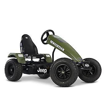 BERG Jeep Revolution BFR Pedal Go Kart Green