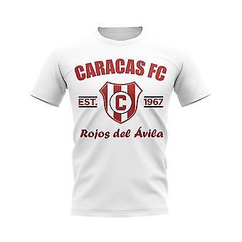 Caracas Established Football T-Shirt (White)