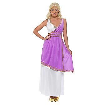 Grecian Goddess Costume, Roman/Greek/Toga Fancy Dress, UK Size 8-10