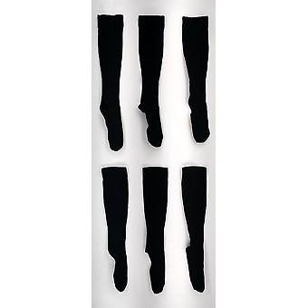 Legacy Graduated Compression Hose Style 3 Pack Schwarze Socken A258111